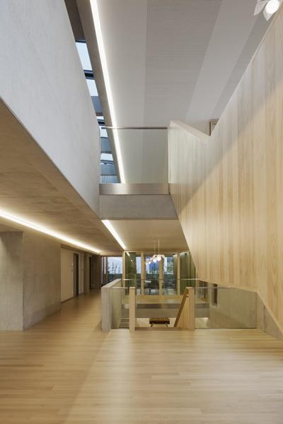 Treppenaufgang im Obergeschoss